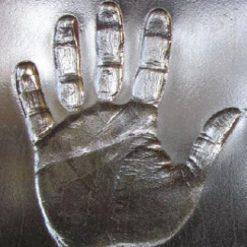 Glass handprints SALE